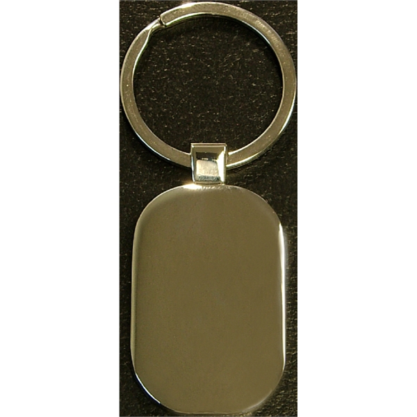 Chrome metal key holder
