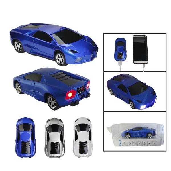 4400mAh Fashion Electronic Car Shaped Power Bank