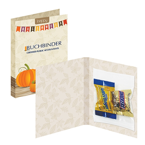 Treat Card With Bite Size Candy Bars
