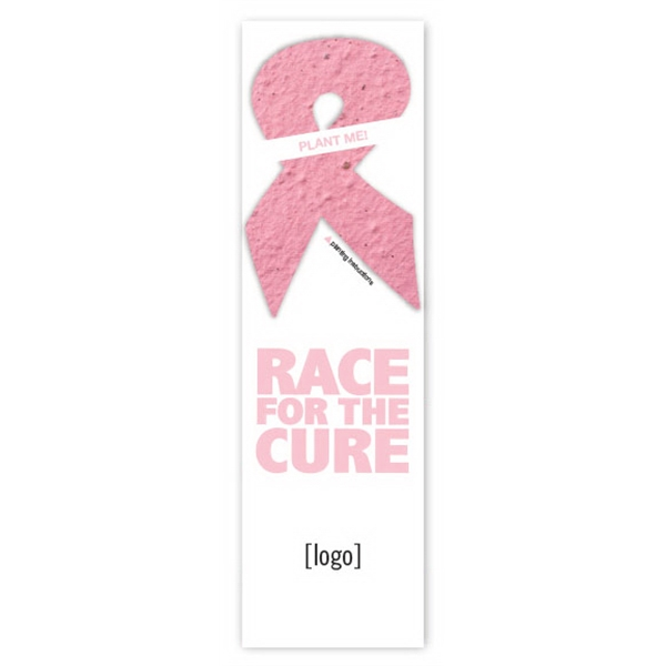 Seed Paper Shape Bookmark 22 Breast Cancer Awareness Designs