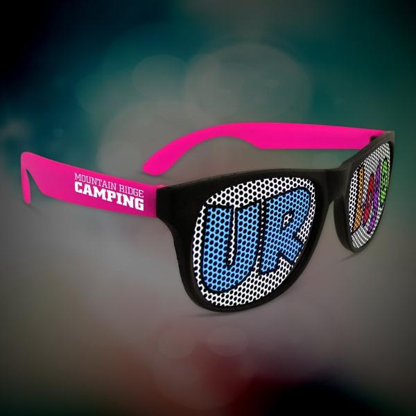 Custom Pink Neon Billboard Sunglasses