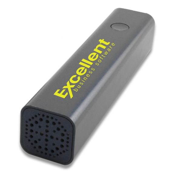 Bluetooth Speaker Power Bank in Tube
