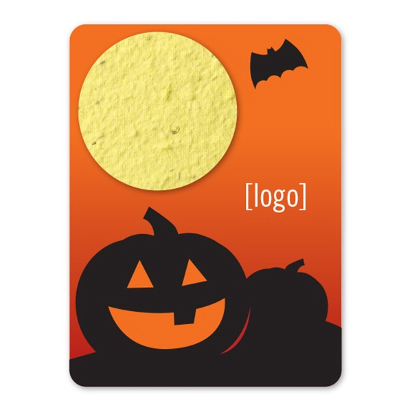 Mini Seed Paper Gift Pack: 3 Halloween Designs Available