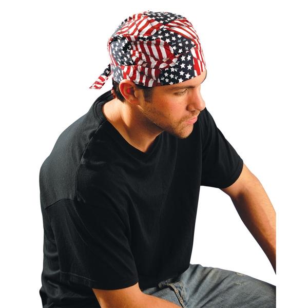 Tuff Nougies® Flame Resistant Deluxe Tie Hat w/Elastic