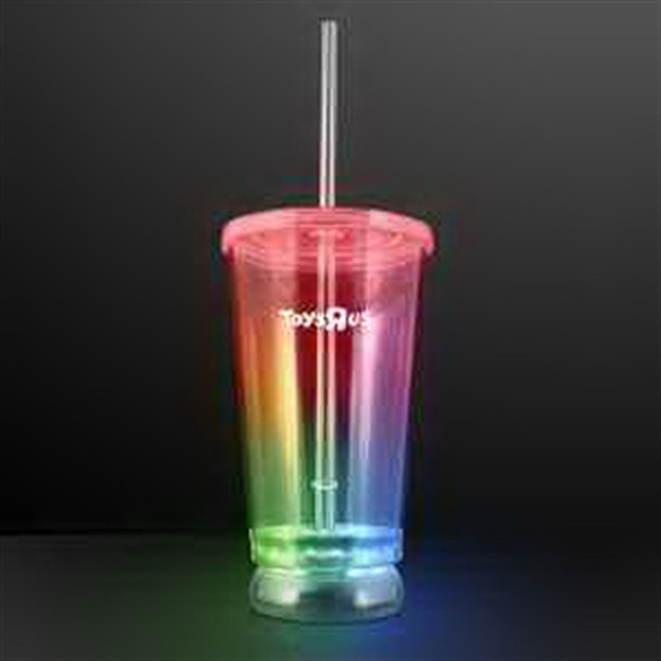 Light Up Multicolor Tumbler Cups