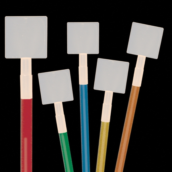 Square Glow Light Up Swizzle Stick Toppers