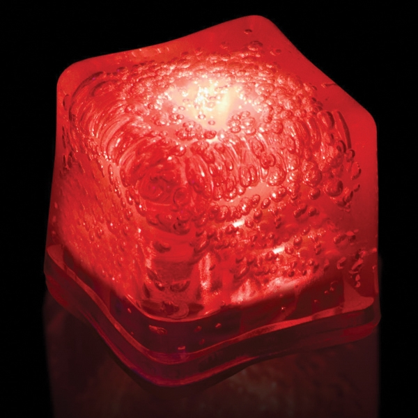 Red Light Up Premium LitedIce Brand Ice Cube