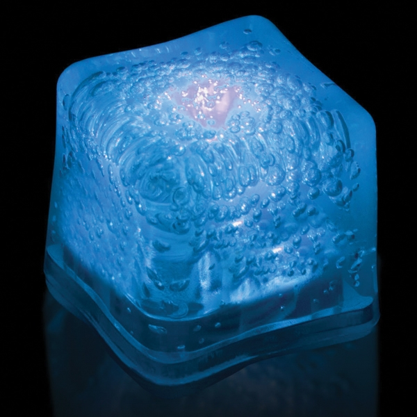Blue Light Up Premium LitedIce Brand Ice Cube