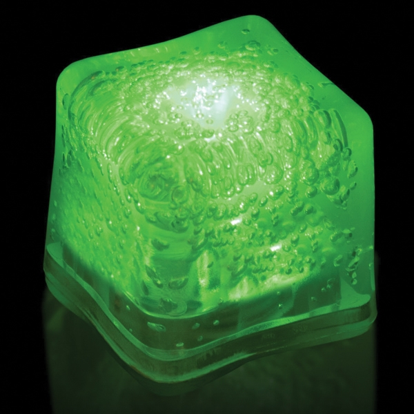Green Light Up Premium LitedIce Brand Ice Cube