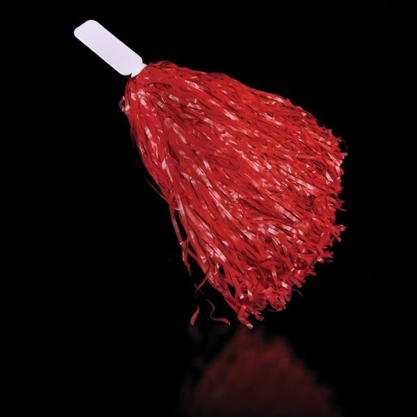 "Red 16\"" Plastic Pom Pom"