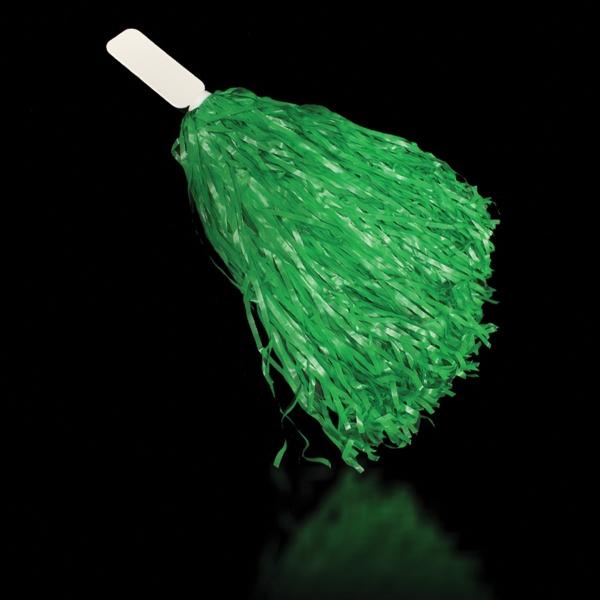 "Green 16"" Plastic Pom Pom"