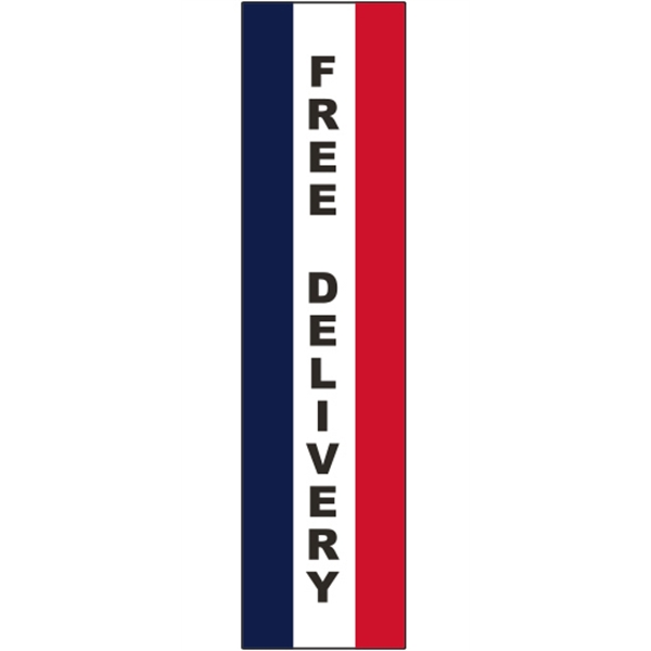 3' x 12' Message Square Flag - Free Delivery