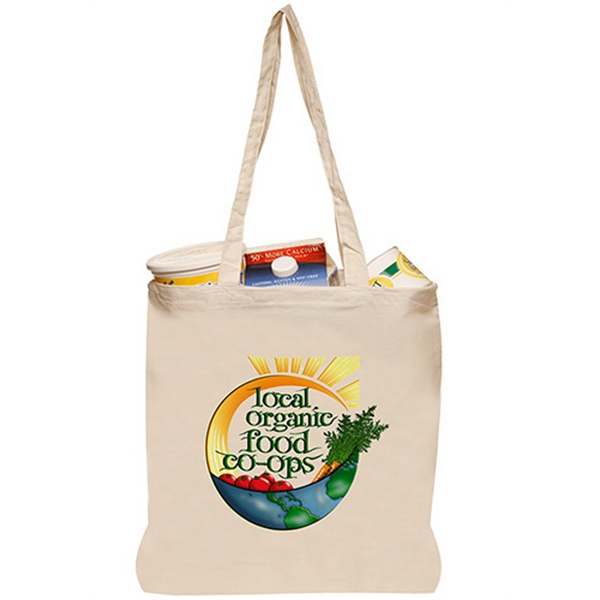 14.75 W x 16 H Natural Cotton Tote Bags