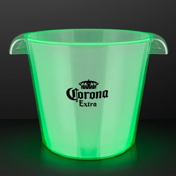 LED Green Light Up Bucket Bar Accessory