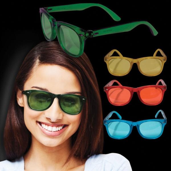 Multi Colored Blues Glasses