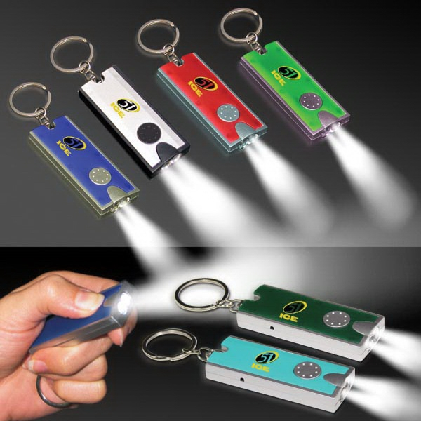 Flashlight LED Keychain