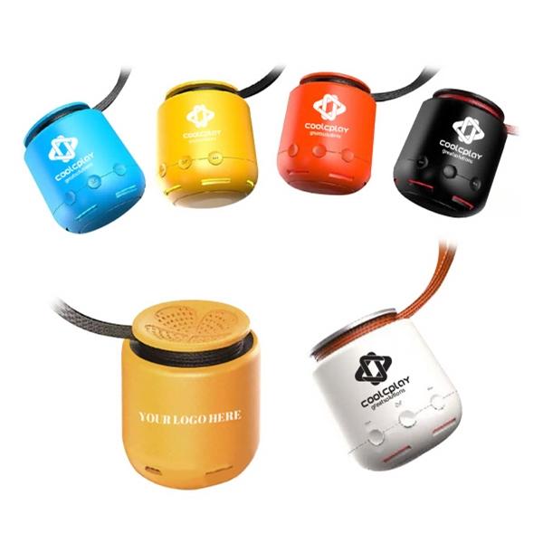 Portable Bluetooth Speaker With Wrist-strap