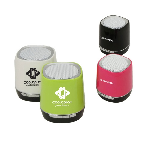 Small Colorful Bluetooth Speaker