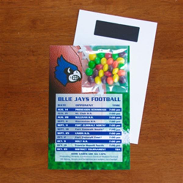 Mini Bag Skittles on Stick Up Card