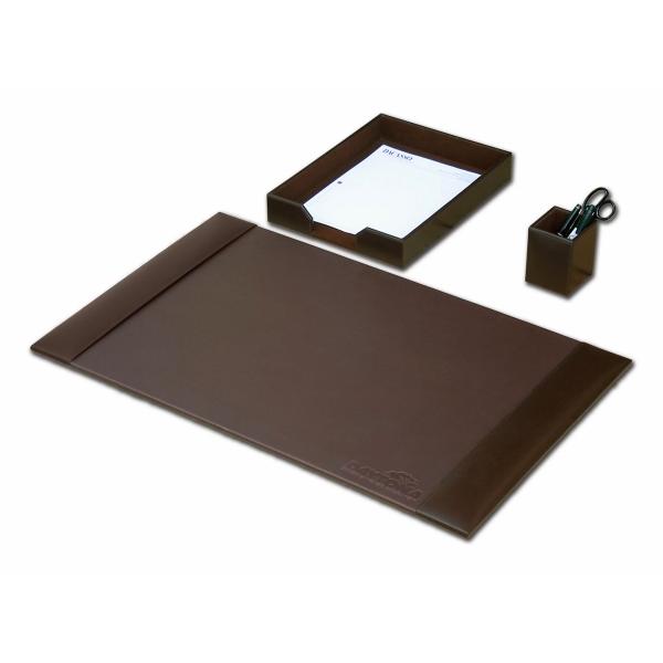 3 Piece Econo-Line Leather Desk Set