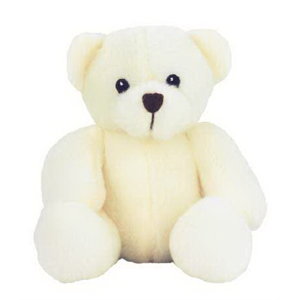 "6"" White Sugar Bear"