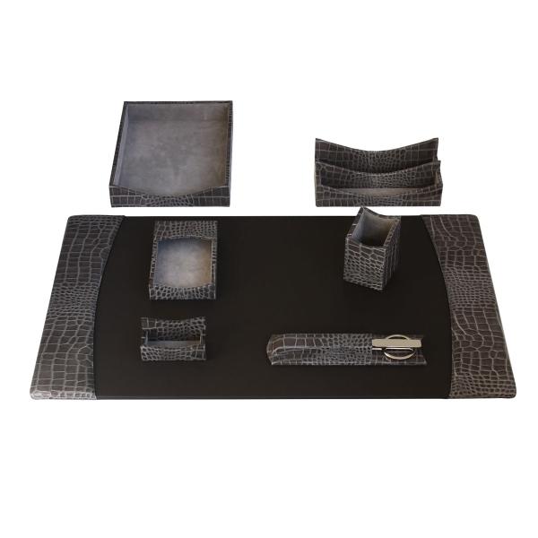 7-Piece Protacini®Leather Desk Set