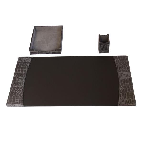 3-Piece Protacini®Leather Desk Set