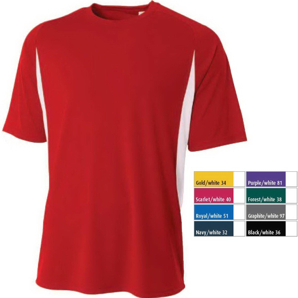 A4 Cooling Performance Color Blocked Crew