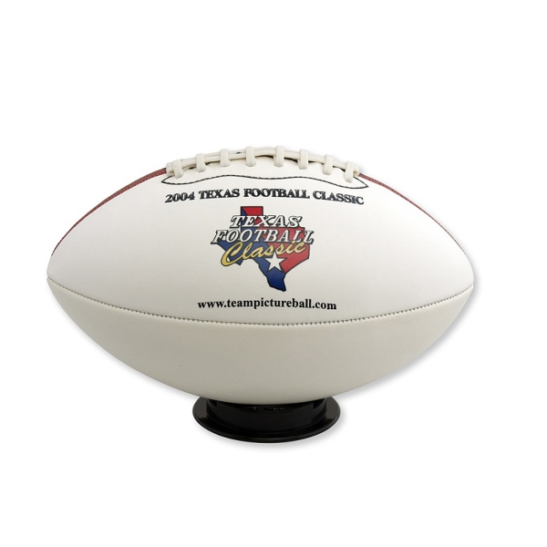 Football- Full Size Signature - Ships Inflated