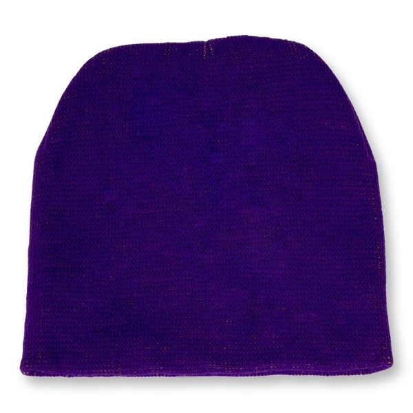 Knitted Beanie Short Style, Knit Only