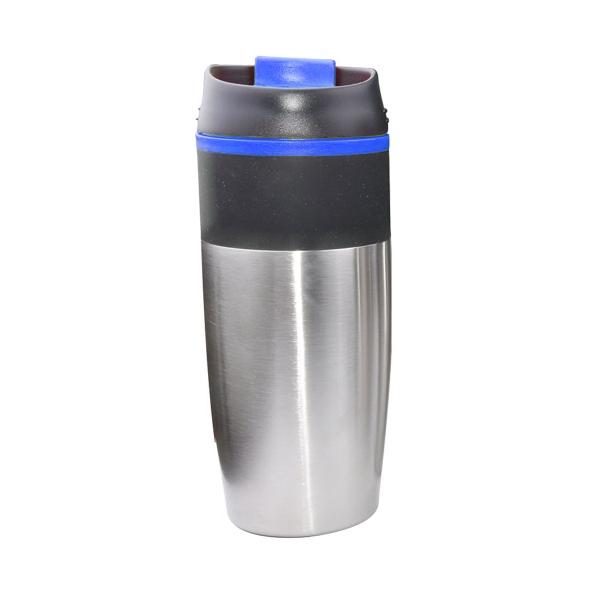 15 oz. Stainless Steel Travel Mug W/ Plastic Liner