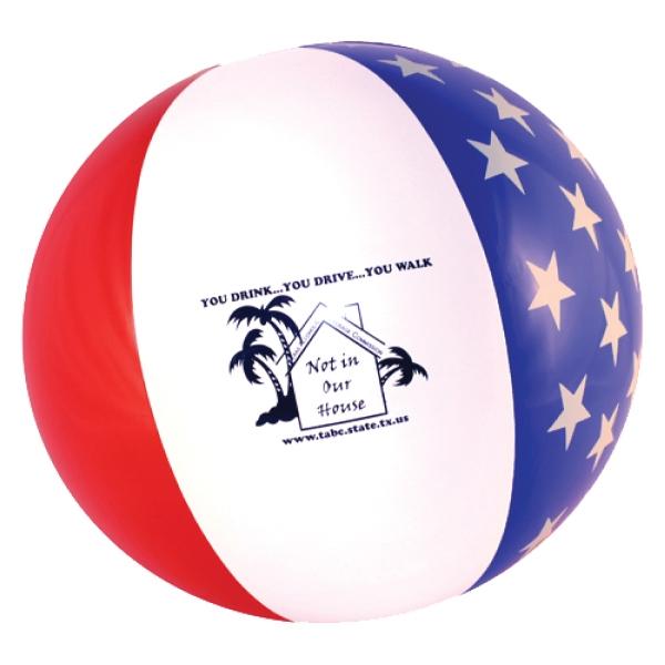"16"" Patriotic Beach Ball"