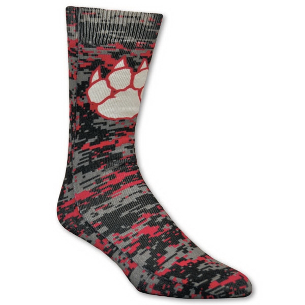 Full Cushion Tube Sock with Full Color Sublimation