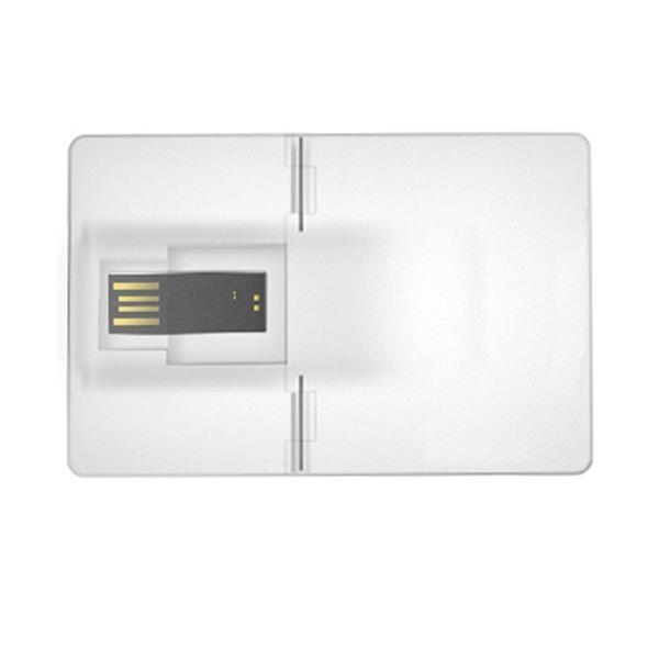 Clear Club Card - USB Flash Drive