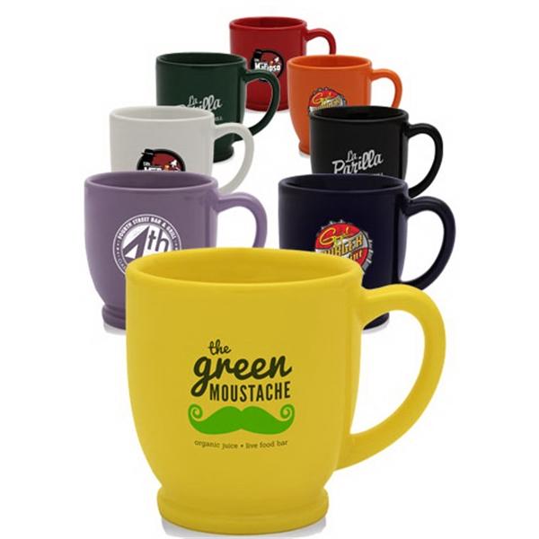 8 oz Mini Ceramic Bistro Mug