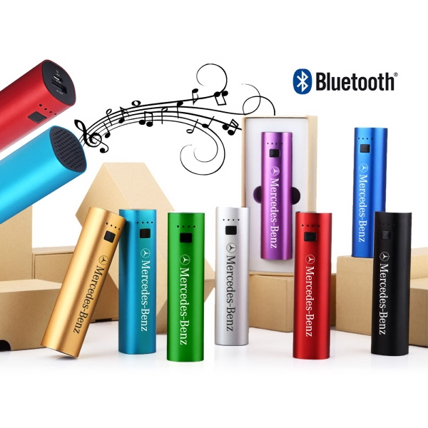 2-in-1 Bluetooth Speaker & 4000 mAh Power Bank Gift Boxed