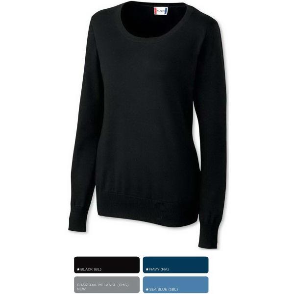 Clique Ladies Imatra Scoop-Neck Sweater