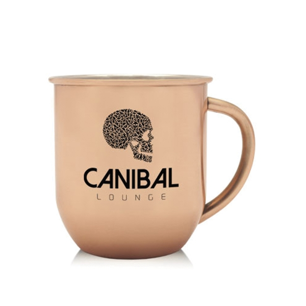 16 oz Stainless Steel Copper Coated Mug