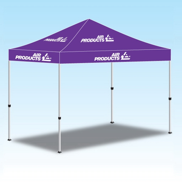 10ftx10ft Personalized Tent Canopy Graphics-1Color - 10ftx10ft Personalized Tent Canopy Graphics-1Color.