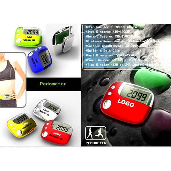 Multifunction Pedometer with Stopwatch & Timer