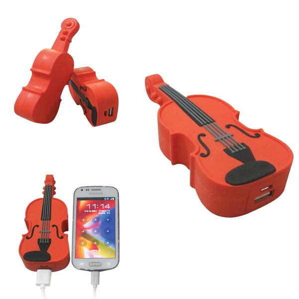 Violin Shaped Power Bank