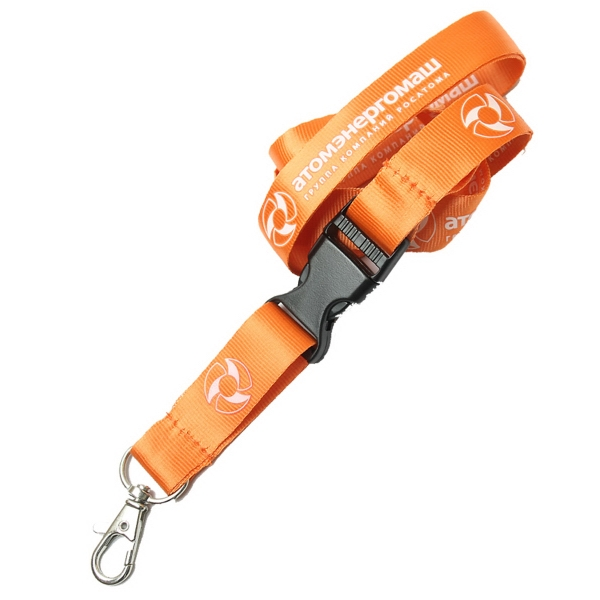Detachable Custom Nylon Lanyards