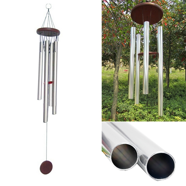 Wind Chime With Aluminum Tubes