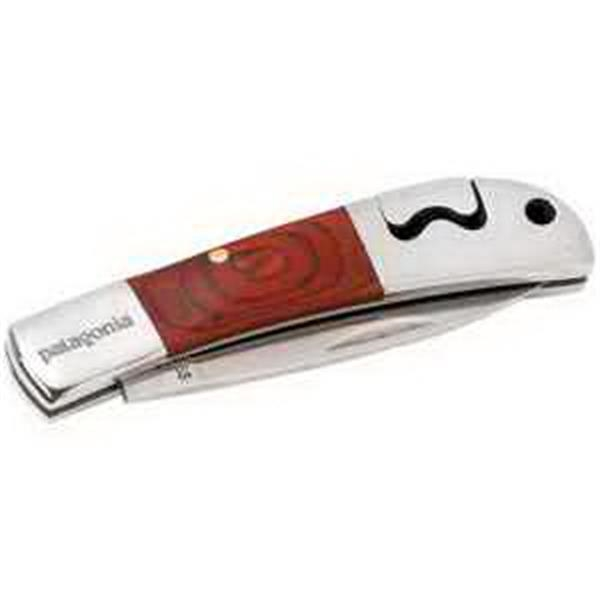 Small Lockback Wood Knife