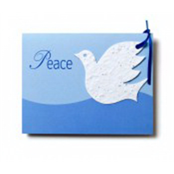 Dove Seed paper cards