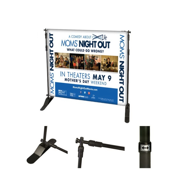 Step & Repeat Backdrop -  8ft x 8ft ( Full Package )