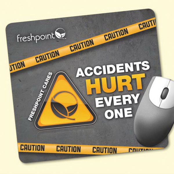 "Origin'L Fabric®7.5""x8""x1/4"" Antimicrobial Mouse Pad"