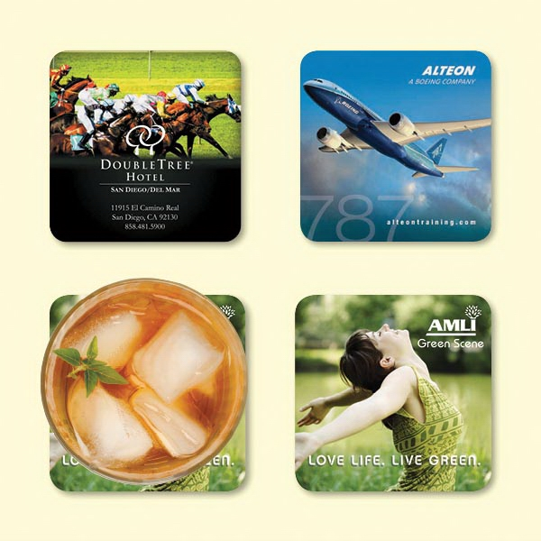 "Origin'L Fabric®3.6""x3.6""x1/16"" Antimicrobial Coaster"