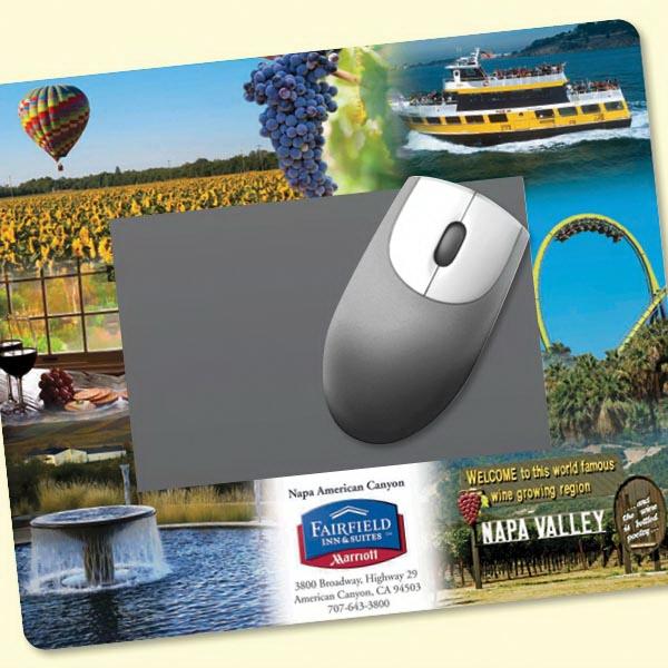 "Frame-It Flex®8""x9.5""x1/8"" Window/Photo Mouse Pad"