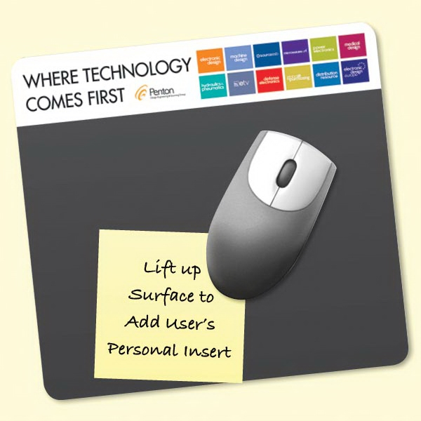 "Frame-It Lift®7.5""x8""x1/16"" Lift-Top Mouse Pad"